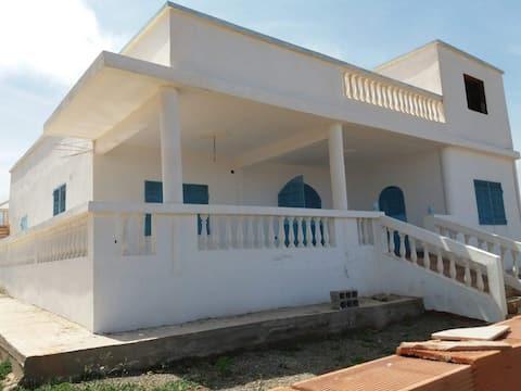 Beautiful country villa above the sea