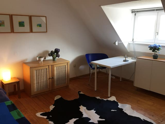 Lovely room for the HMI with private Bathroom - Hannover - บ้าน