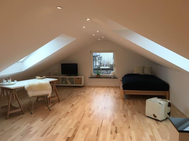 Schöne Dachgeschosswohnung mit Bad