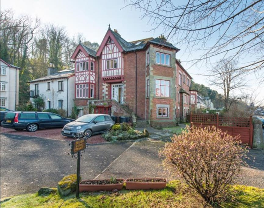 """Beautiful 1890's """"C"""" listed building."""