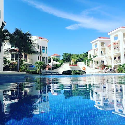 Paseo del Sol, 204 senote, 3 bedrooms - Playa del Carmen - Appartement