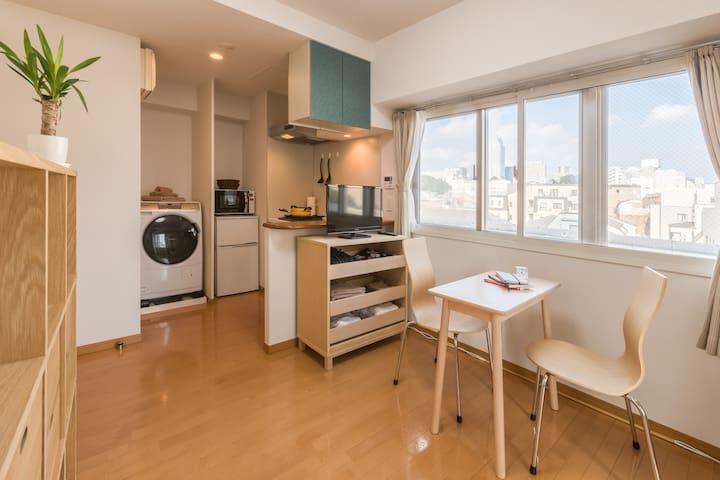 MUJI furnitures 無印良品家具の部屋 - Minato-ku - Apartamento