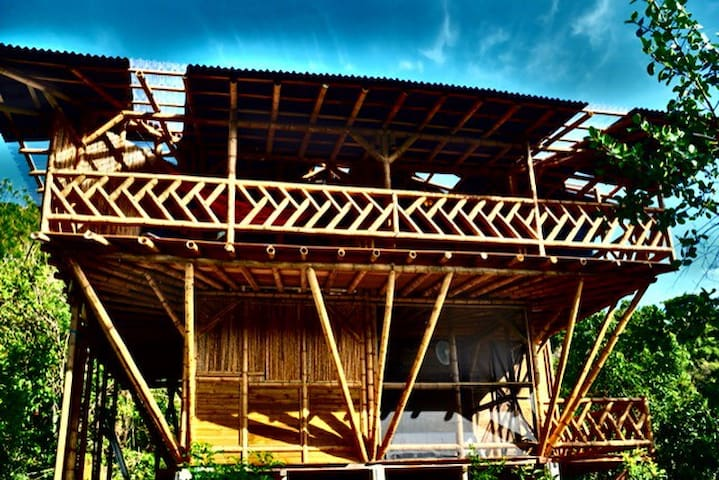 Bamboo House in the Sky
