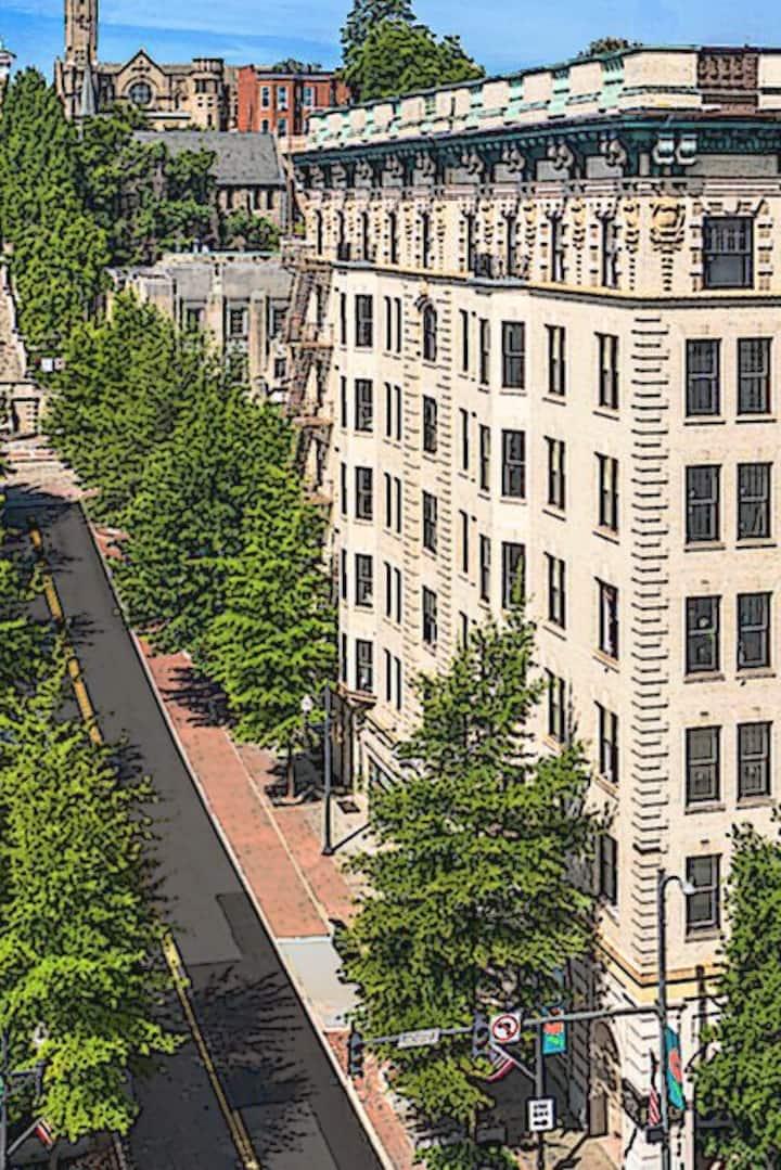 2 BTH - 2 BDRM Downtown Luxury Loft Apt.