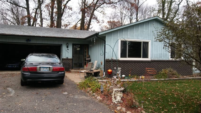 Nice 4 bedroom home wooded lot