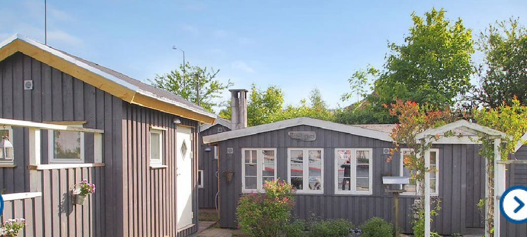Lille sommerhus ved aabenraa fjord