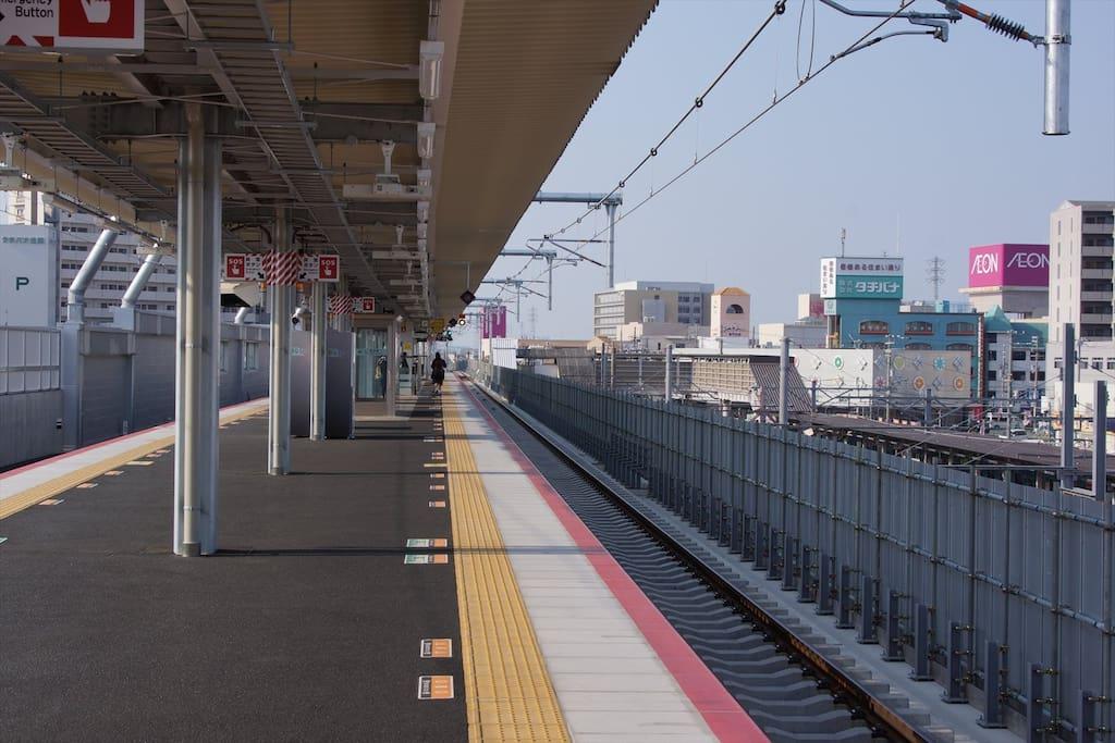 8 mins walks to the Higashikishiwada station