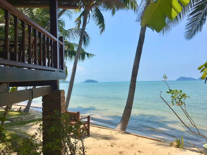 Beach front House Sea View First Row Hin Kong 1 ❤️