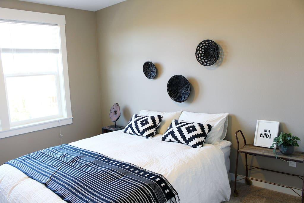 Your cozy bedroom!