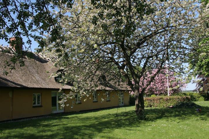 Smuk idylisk stråtægt bondegård - Roskilde - Rumah