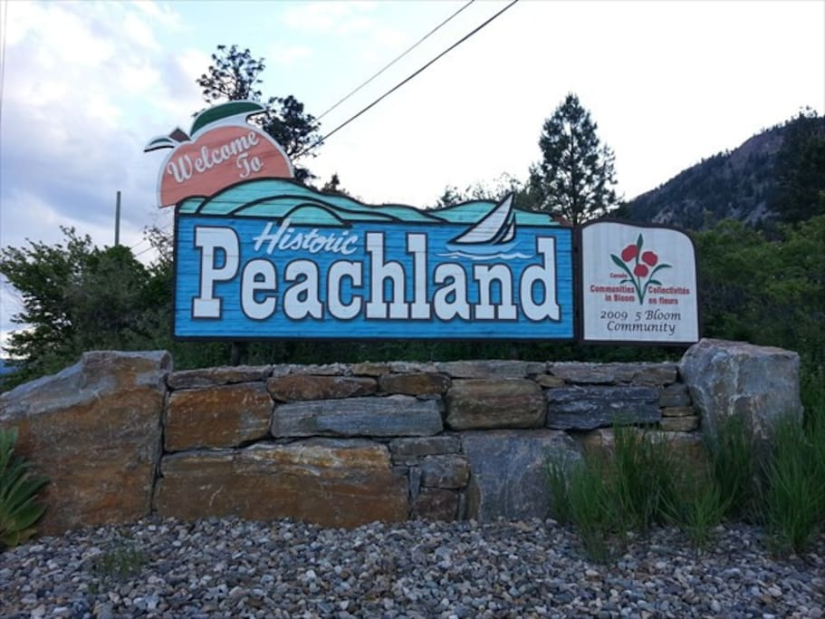 Welcome to Peachland