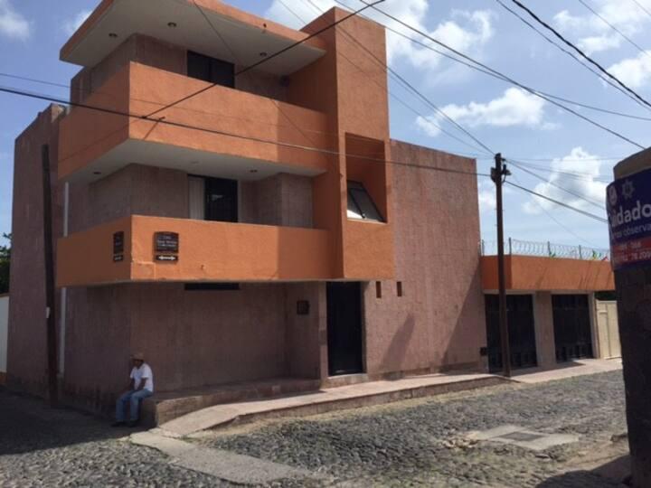 Casa Colonial. Centro de Huichapan Pueblo Magico