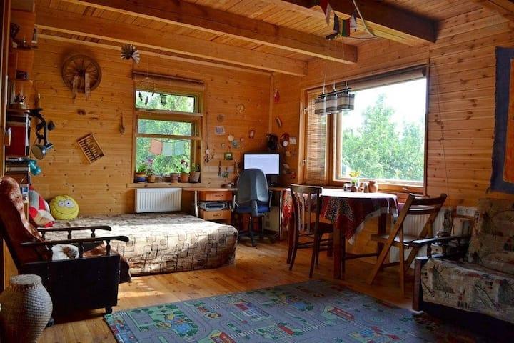 Уютный Дом-над-рекой