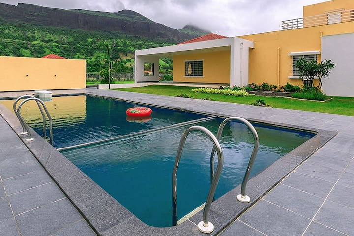 Meluha Villa, 3 BHK w Private pool & Mountain View