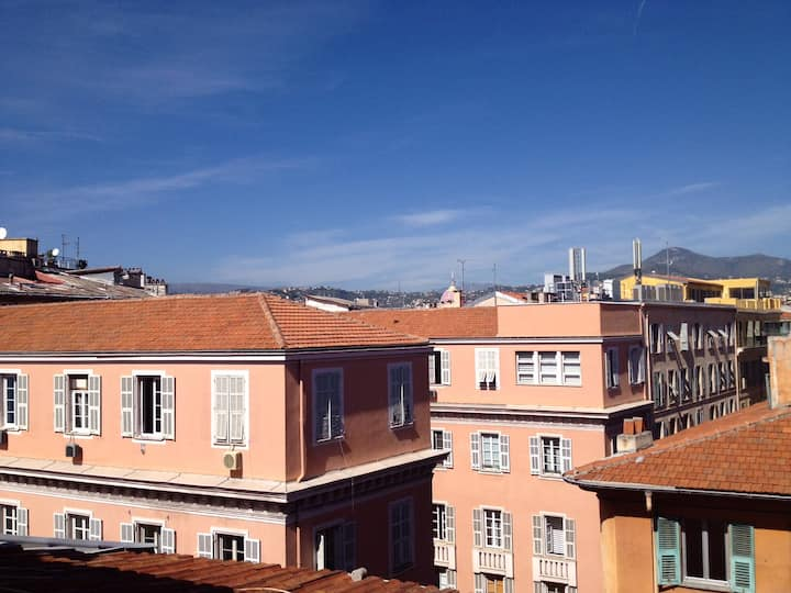 Loft in Saint François Mansardé in the heart of Nice