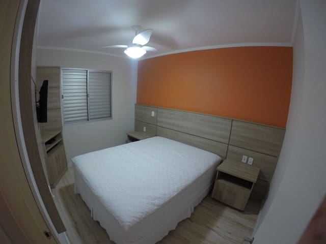 Apartamento mobiliado completo