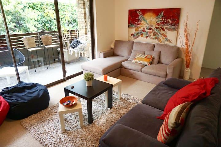 Bright Private Room-Great location - Bellevue Hill - Apartment