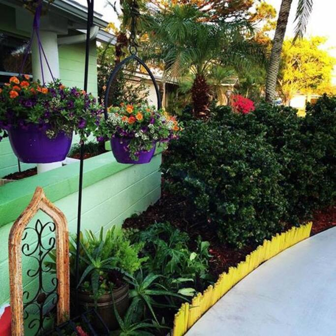 The Main House - The Lemon Tree House Entrance