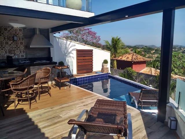 Casa mais charmosa de Geribá! Venham Relaxar!!!