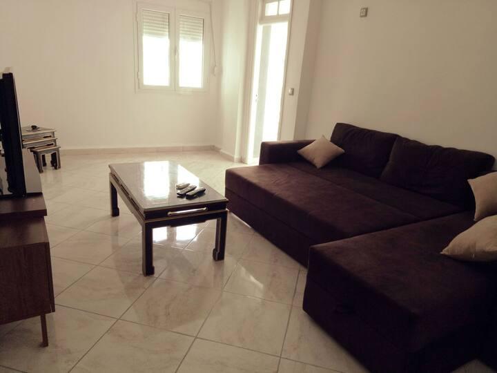 Appartement cosy pour se reposer et se divertir