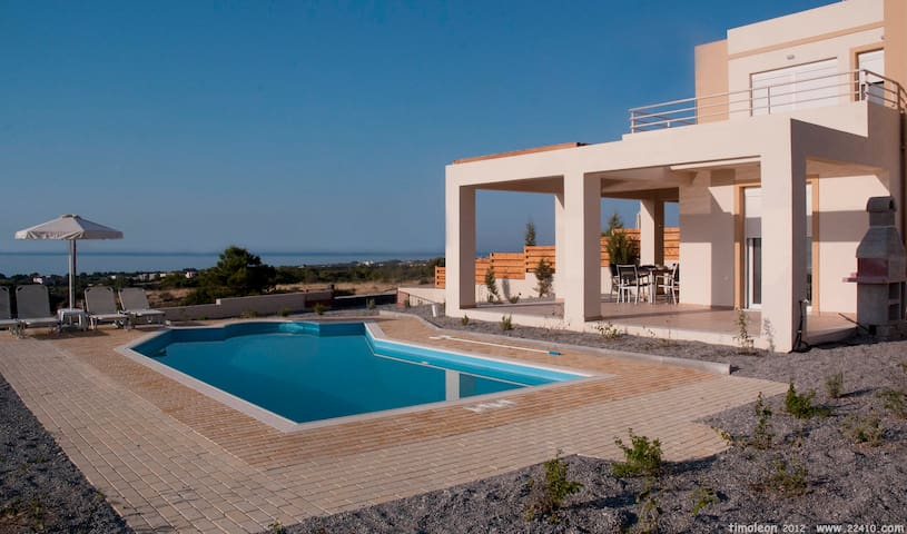 Villa Phoebe, Private Villa With Panoramic Views - Gennadi - Casa