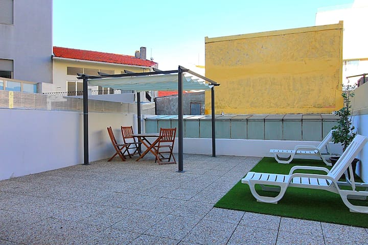 Apartment Terrace Beach Oporto
