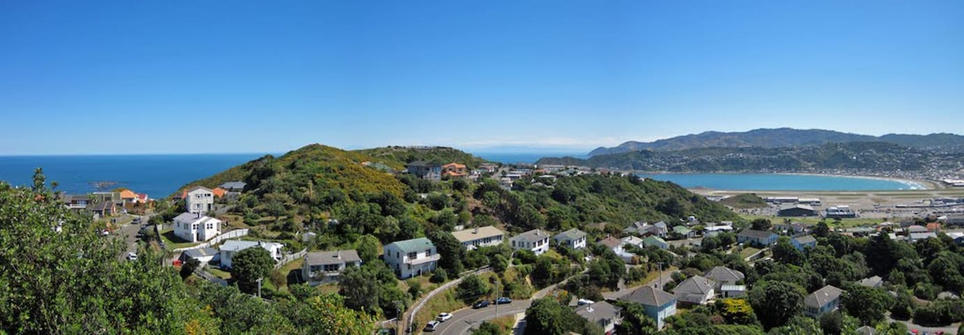 Lovely home near airport, Weta and the beaches!