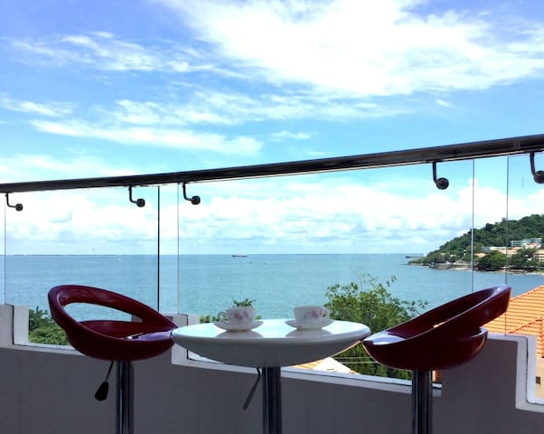 Oceanview Condo-Scenic and Quiet - tp. Vũng Tàu - 公寓