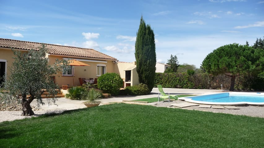 Modern house with garden and pool - Saint-Nazaire-d'Aude - Dom