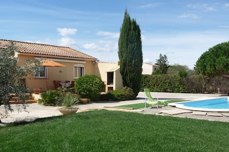 Modern house with garden and pool - Saint-Nazaire-d'Aude - Haus
