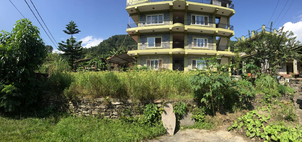 Peaceful farm house near Lakeside, Pokhara