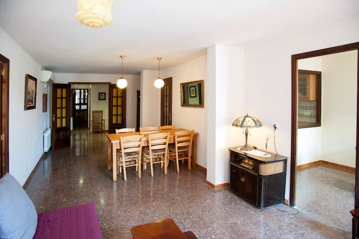 The 2nd of the Dutch: +100 m2, wifi and Air Co - Balaguer - Apartment