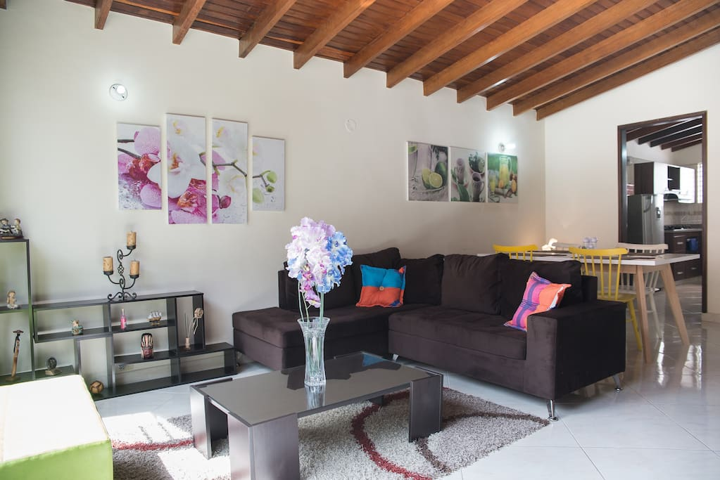 Feel at home. Comfortable, spacious common areas