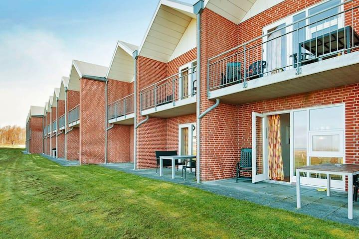 Tolles Ferienhaus in Jütland Dänemark mit Terrasse