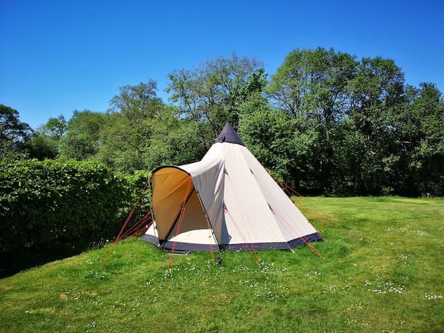 Tipi Tent 3 in the heart of the Highlands