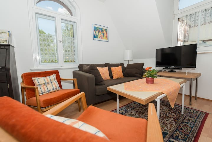 Lovely flat close to the river