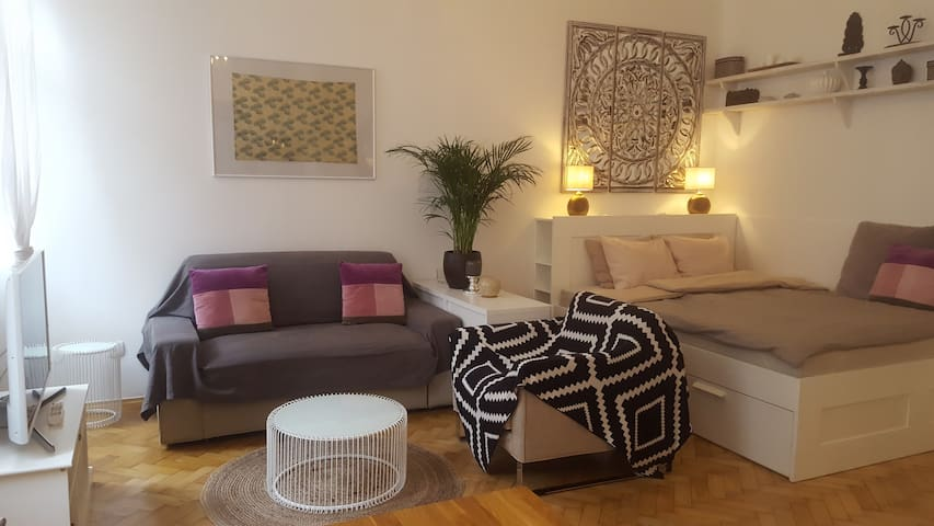 Beautiful and chic studio close to center&airport!