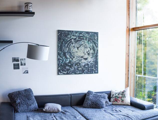 Loft/Artists Studio in Eco-District - Freiburg  - Çatı Katı