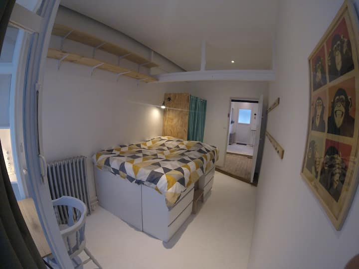 Chambre #2 dans appartement atypique Amiens centre