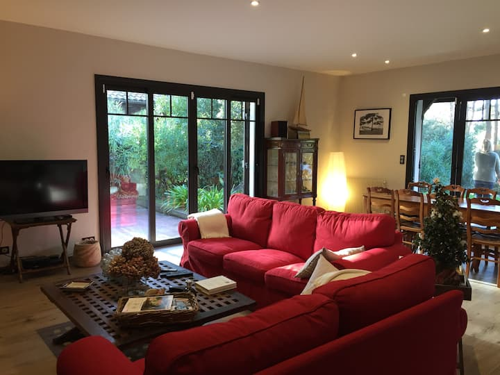 Very beautiful renovated villa in the heart of Le Moulleau - 3 bedrooms