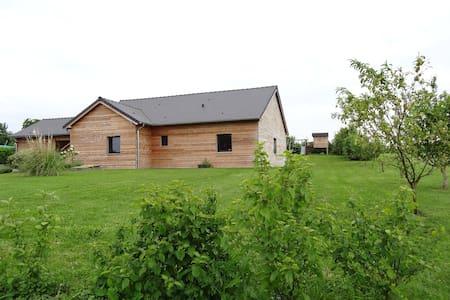 Maison individuelle bois 140 m2