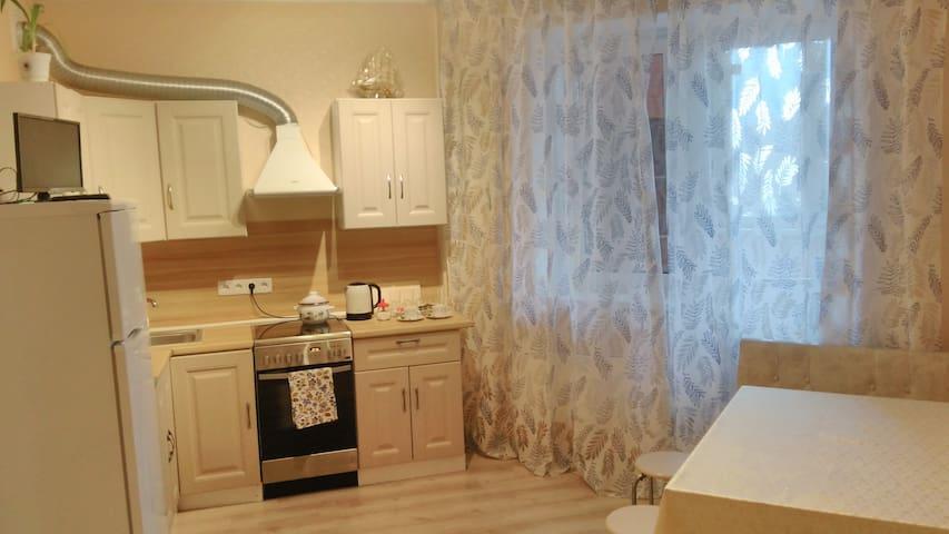 Уютная квартира с евро ремонтом в новом доме - Ivanteevka - Apartment