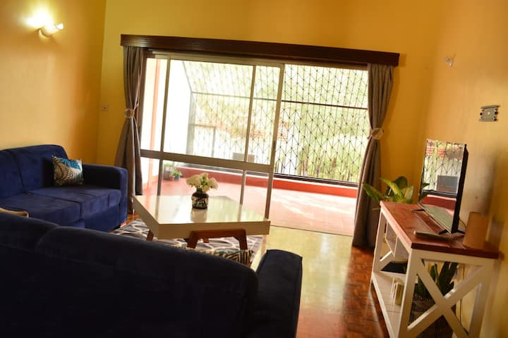 Spacious two bedroom house in Mombasa with pool
