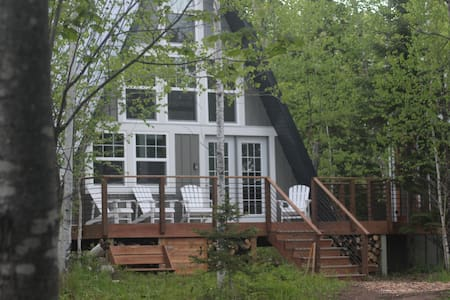 River Run: Secluded A-frame, 2 miles from G Marais