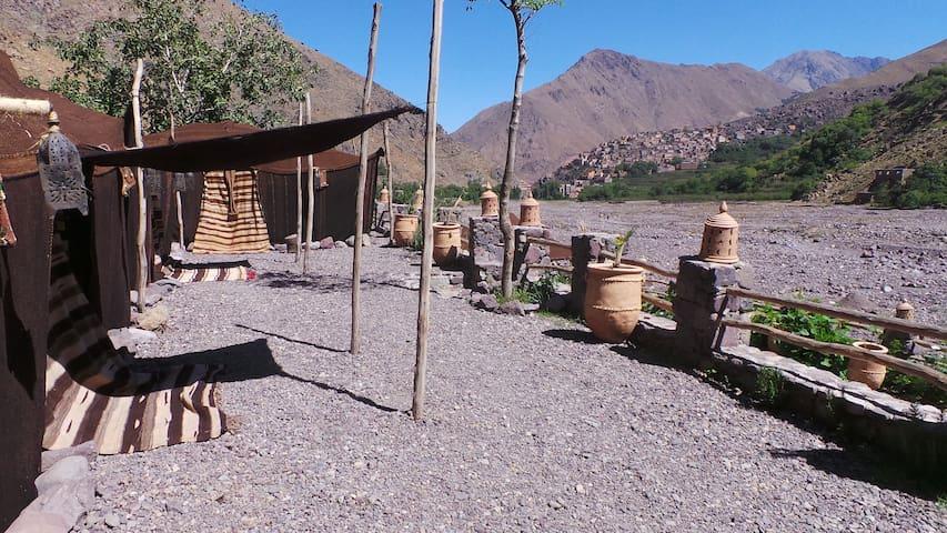 Old sheepfold - Earth Room - Imlil - ที่พักพร้อมอาหารเช้า