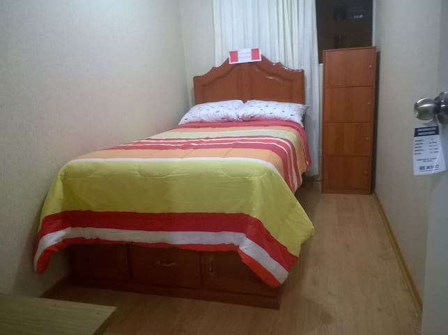 Room in shared flat, very close to Lima downtown