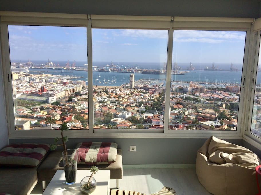 deluxe city apartment free wifi wohnungen zur miete in las palmas de gran canaria. Black Bedroom Furniture Sets. Home Design Ideas