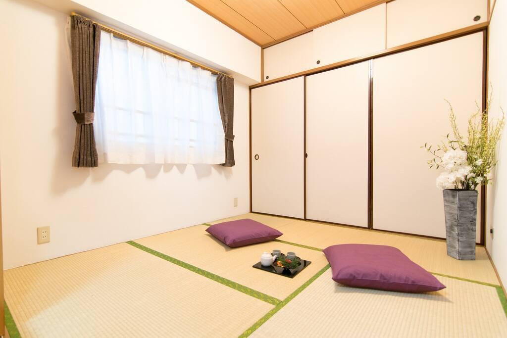 Japanese style room(tatami)