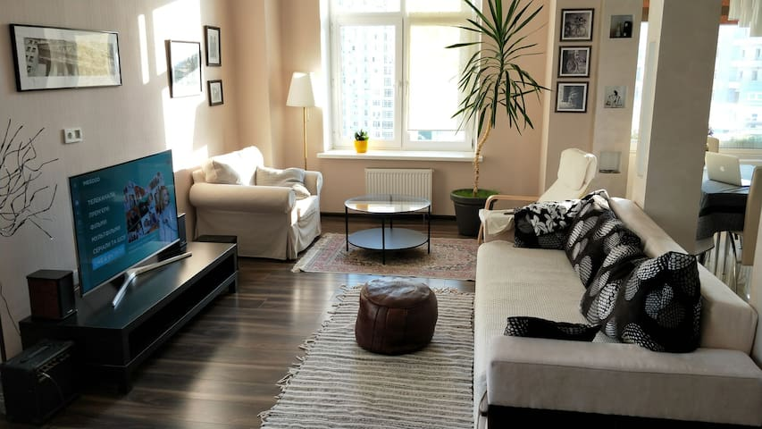 Exclusive 2-bedroom apartment with River View