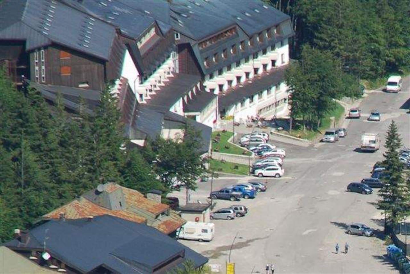 Vista panoramica ResidenceFoemina